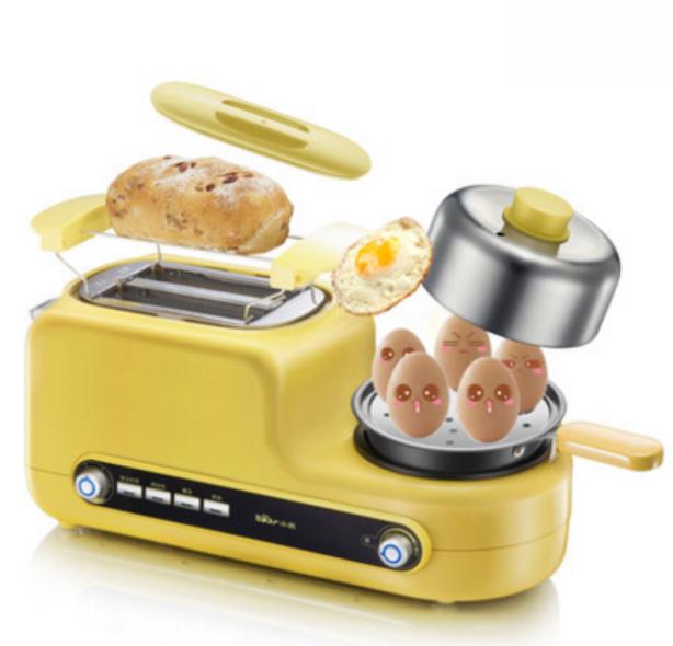 烤面包机家用2片早餐多士炉Bear-小熊 DSL-A02Z1土司机全自动吐司