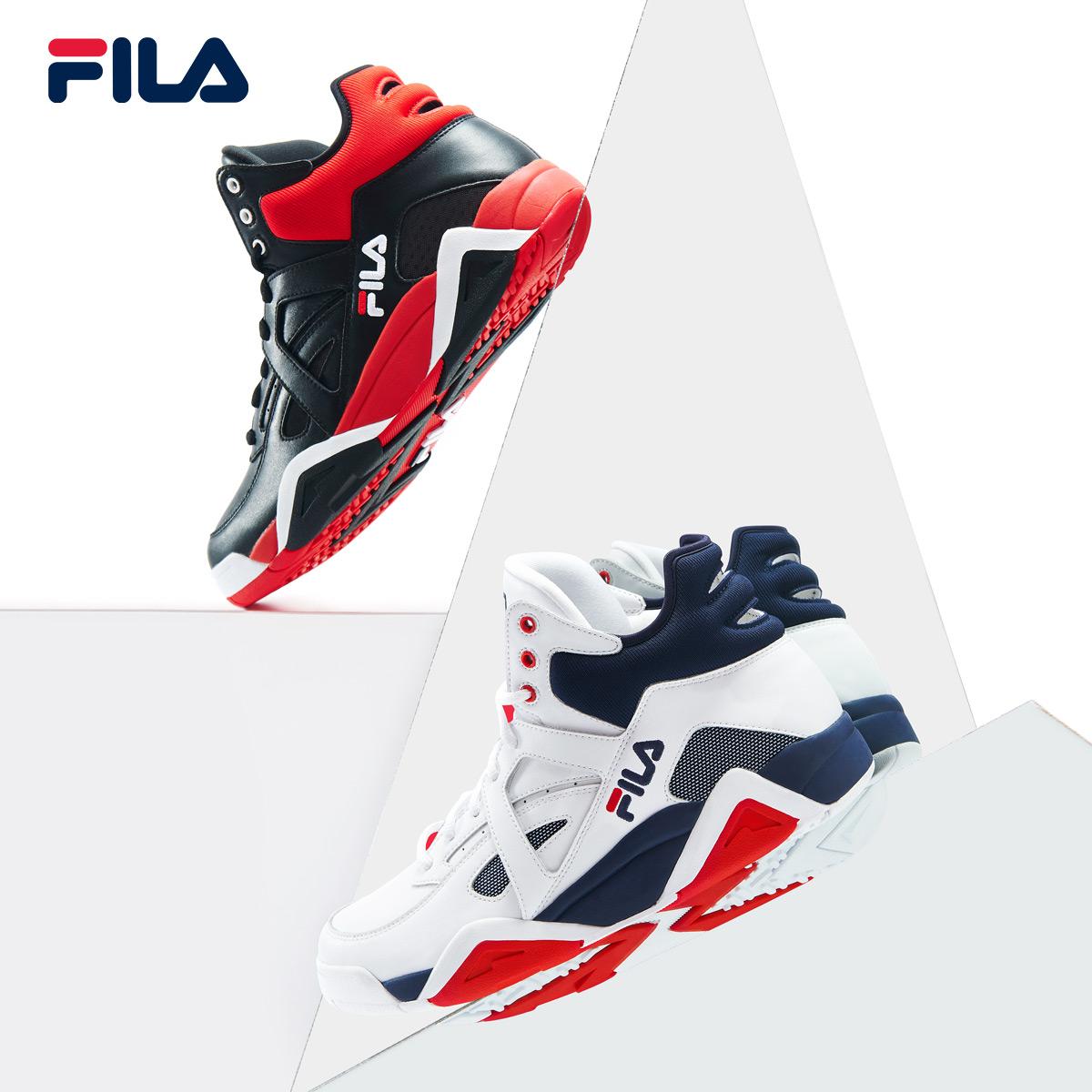 FILA斐乐男鞋2018冬季新款潮流时尚篮球休闲运动鞋男鞋