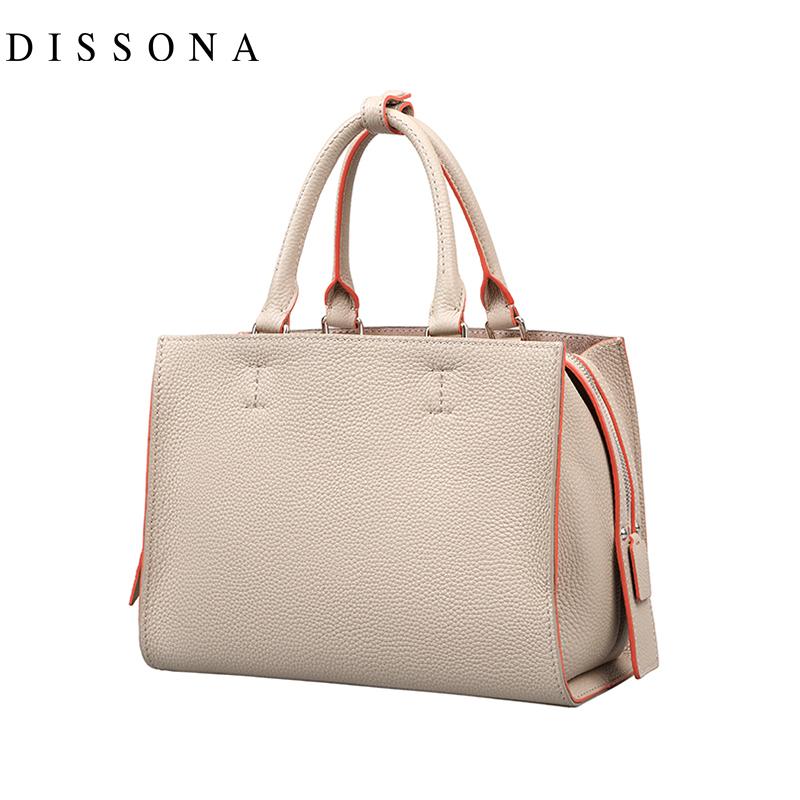 迪桑娜欢乐颂关雎尔乔欣关关同款真皮女包手提包斜挎包单肩小包包