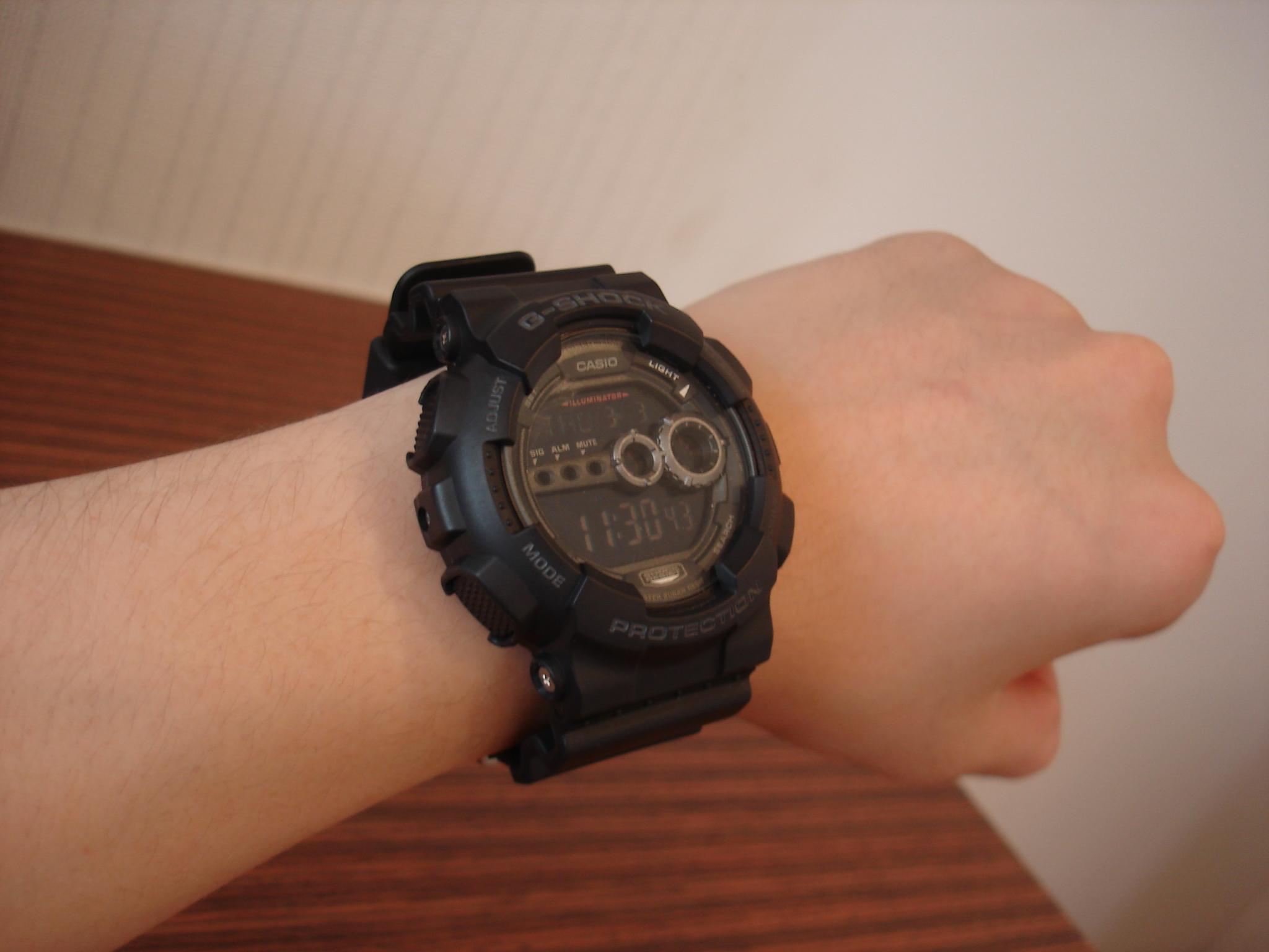 Casio Watches Men And Women Gd 100 1b Anti Display G Shock Gst 200cp 9a