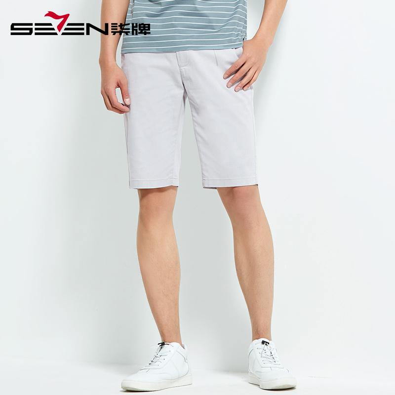 柒牌男装男士休闲短裤夏季宽松短裤休闲裤五分裤