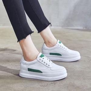 松糕小白鞋女厚底2018新款秋季百搭韩版街拍运动休闲鞋内增高女鞋