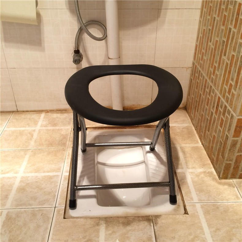 Shang Xi 35CM High Sitting Commode Folding Stool Chair Toilet Toilet Chair  Squatting Toilet Elderly Toilets