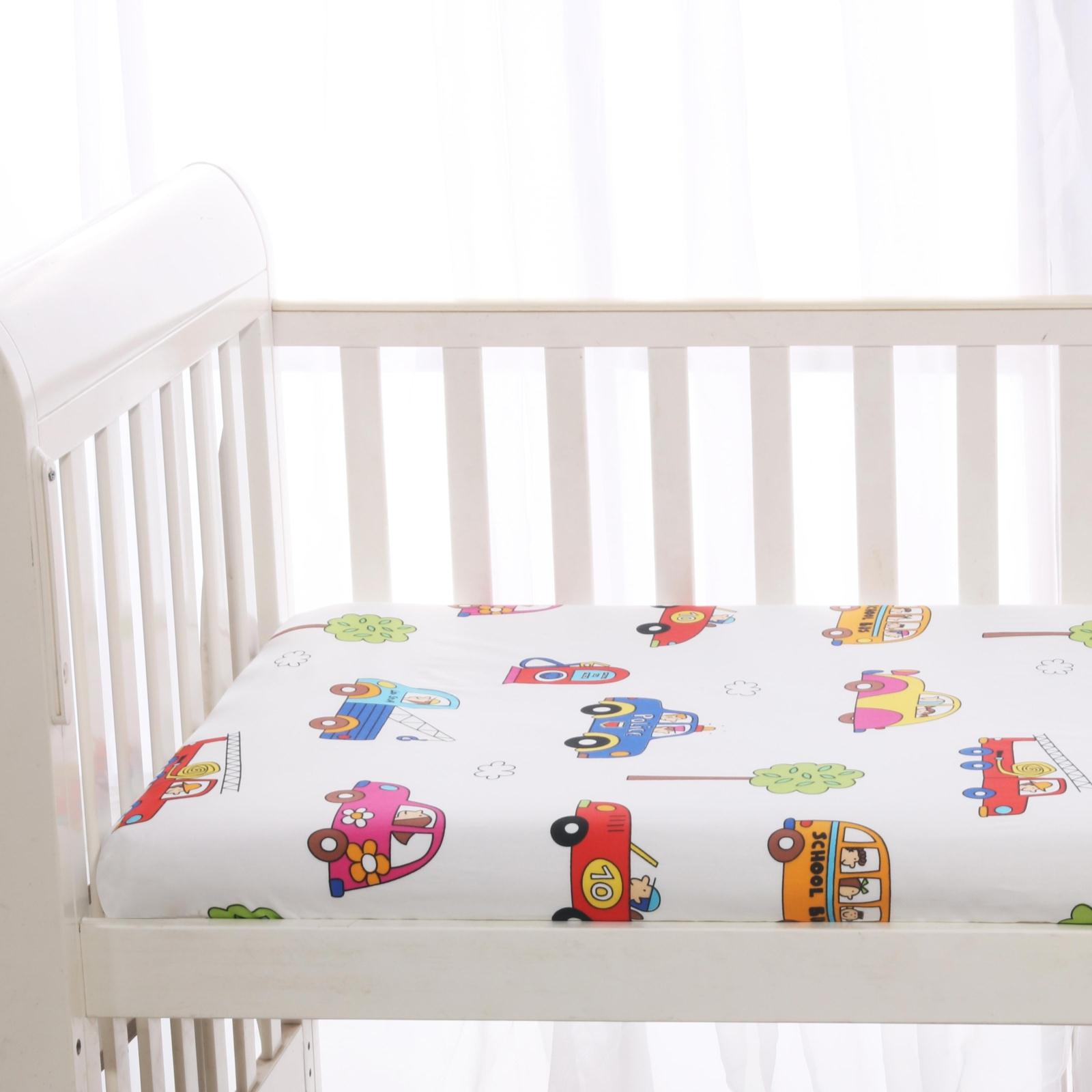 Superbe Baby Bed Pure Cotton Breathable Baby Bed Hat Babies Bed Sheets Babies Bed  Linen Bedspread Customized