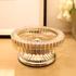 欧式创意烟缸玻璃烟灰缸样板房装饰品摆设 家居时尚个性摆件饰品