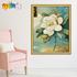 佳彩天颜 DIY数字油画 客厅花卉风景人物大幅装饰画 三联三拼