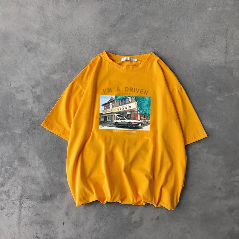 @ 方 少 ملابس الصيف للرجال فضفاض طباعة قصيرة الأكمام تي شيرت الذكور الشباب الكوري الرقبة جولة الاتجاه البرية قصيرة الأكمام