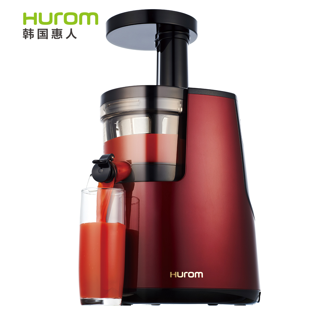 Hurom Slow Juicer Hu 600wn : Hurom/ Hui juice machine HU-600WN household Juicer juice machine imported goods - RoundTheClockMall