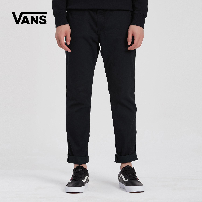 Vans 范斯官方秋季男款黑色梭织长裤|VN0A3143BLK