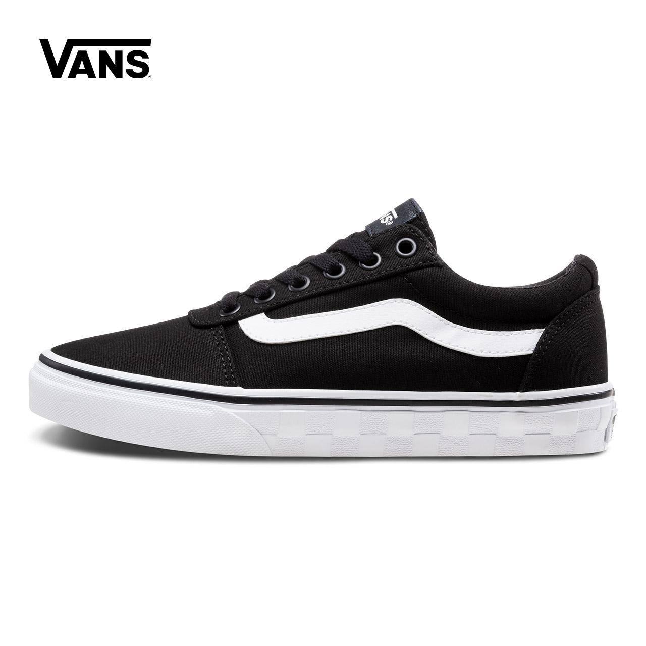Vans 范斯官方女款侧边条纹板鞋|VN0A3TLAUFO-UFP