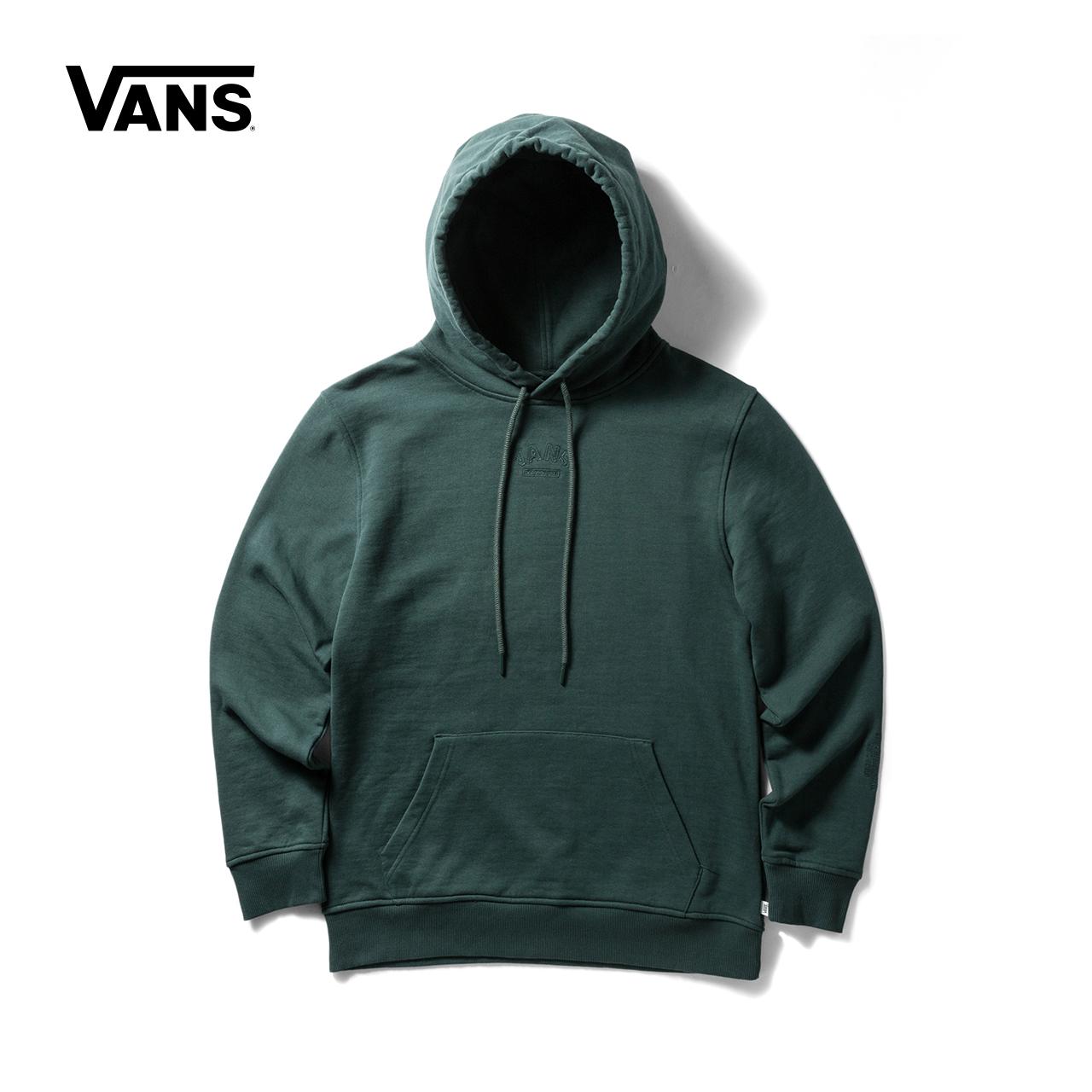 Vans 范斯官方秋季女款加绒连帽卫衣|VN0A3QRFREX-YDX