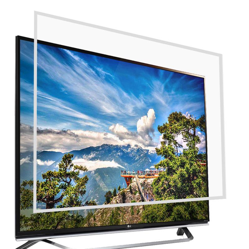 健康辐射 液晶电视保护膜 屏膜膜 防刮伤 防眩光 易贴 50-65英寸