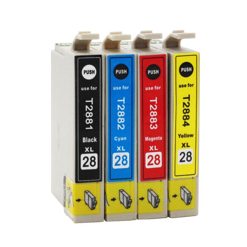 适用爱普生XP-330 XP430 XP340 XP434 XP440墨盒Epson喷墨打印复印扫描一体机墨水盒T2881-4 T288XL黑色彩色