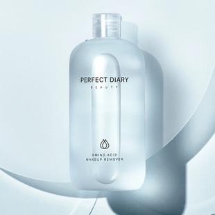 完美日记白胖子氨基酸卸妆水女眼唇脸三合一温和深层清洁正品平价