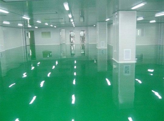 东莞市供电局大厦(环氧地坪漆,防静电地板漆)