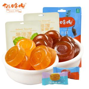 【猫哆哩_酸角糕400g】云南特产小吃 甜酸角糕零食果脯