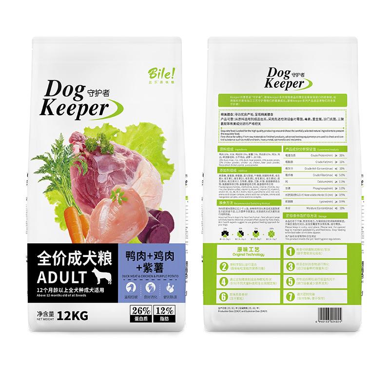 比乐 通用型成犬粮 12kg