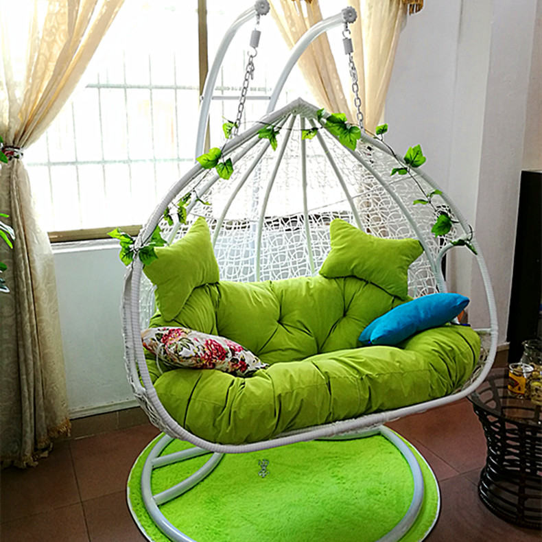 Rattan Rattan Chair Swing Chair Outdoor Indoor Birdu0027s Nest Rattan Basket  Hall Bedroom Double Single Balcony Rattan Rocking Chair