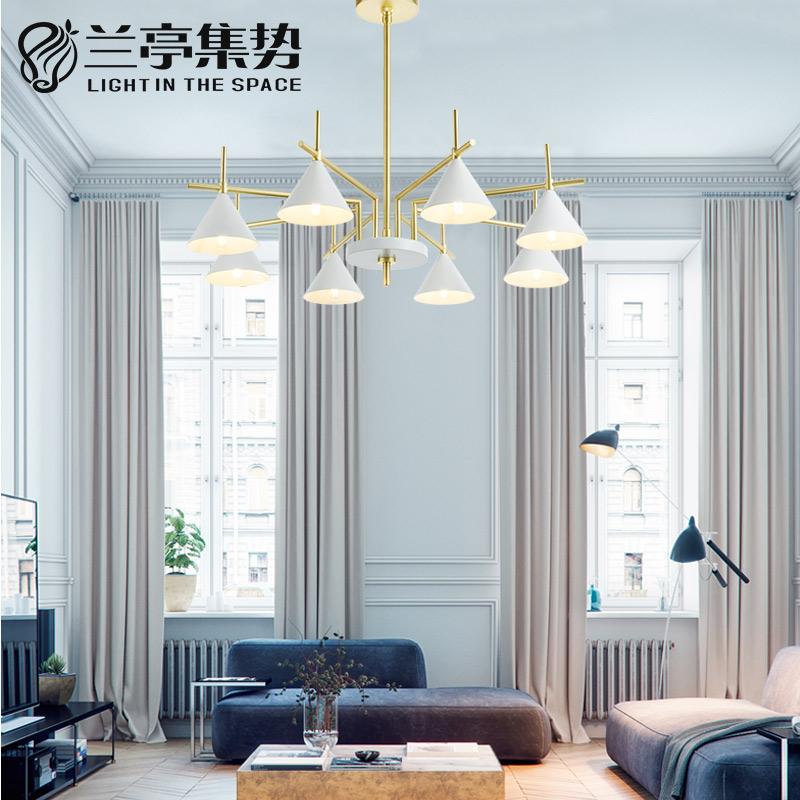 兰亭集势北欧吊灯客厅灯个性创意餐厅灯具样板房设计师后现代吊灯