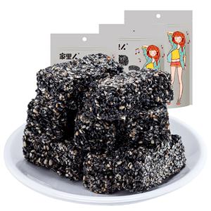 手工黑芝麻酥营养孕妇儿童休闲零食品代餐特产糕点麦芽糖片小吃