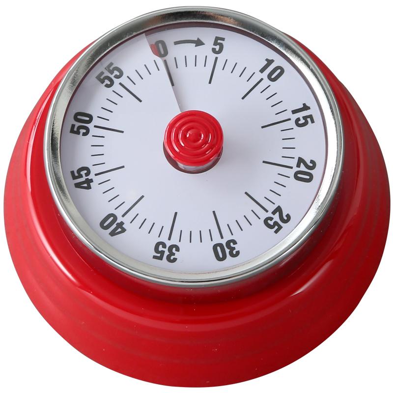 厨房计时器定时器提醒器带磁铁机械式学生学习时间闹钟家用控制器
