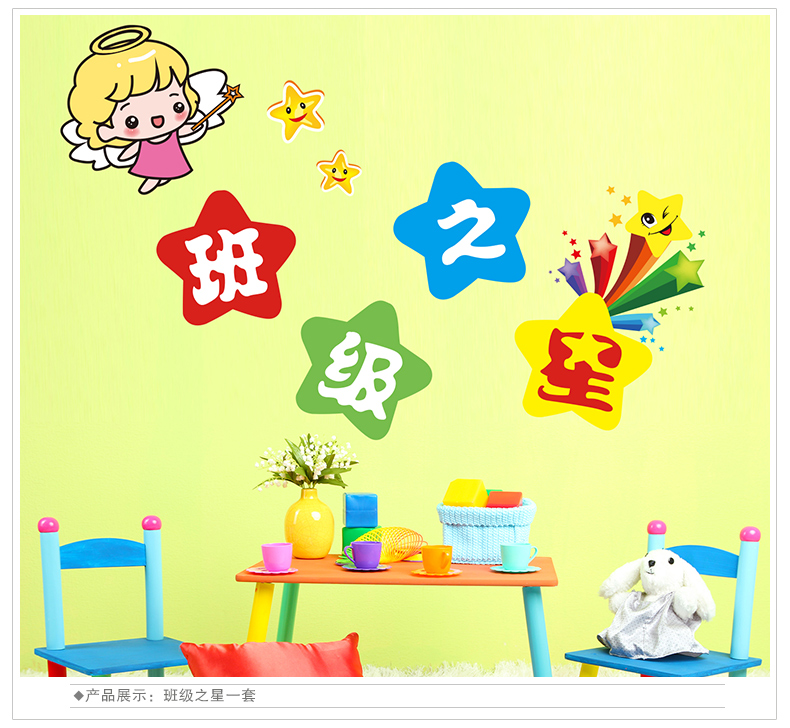 Modern Classroom Wall Decoration Set Motif - Wall Art Collections ...