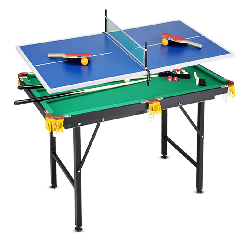 Child king size black 8 pool table foldable table tennis for 1 4 size snooker table