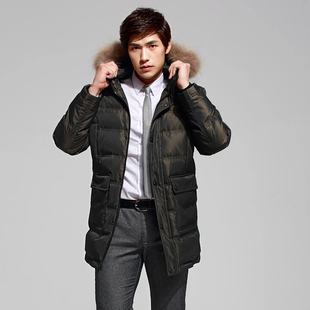 The new man in the Long Hao Peng edge thick jacket youth genuine clearance special offer leisure winter coat