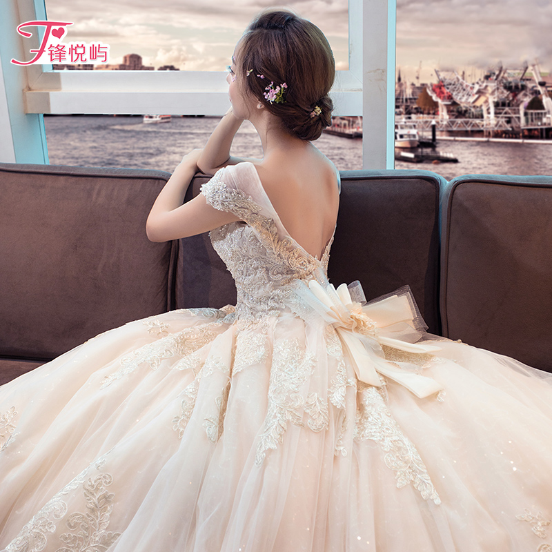 Свадебное платье Feng Yue Lantau fyy/5395 2017