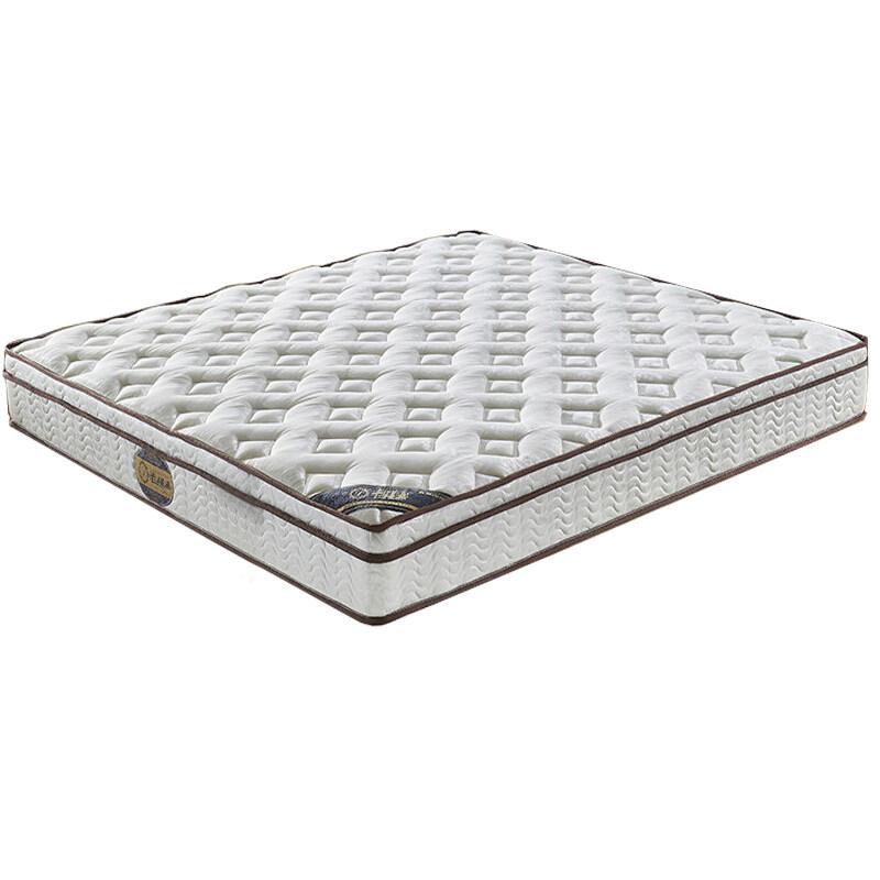 沃尔琦 益生菌床垫护脊环保床垫软硬适中1.8米双人床垫席梦思床垫
