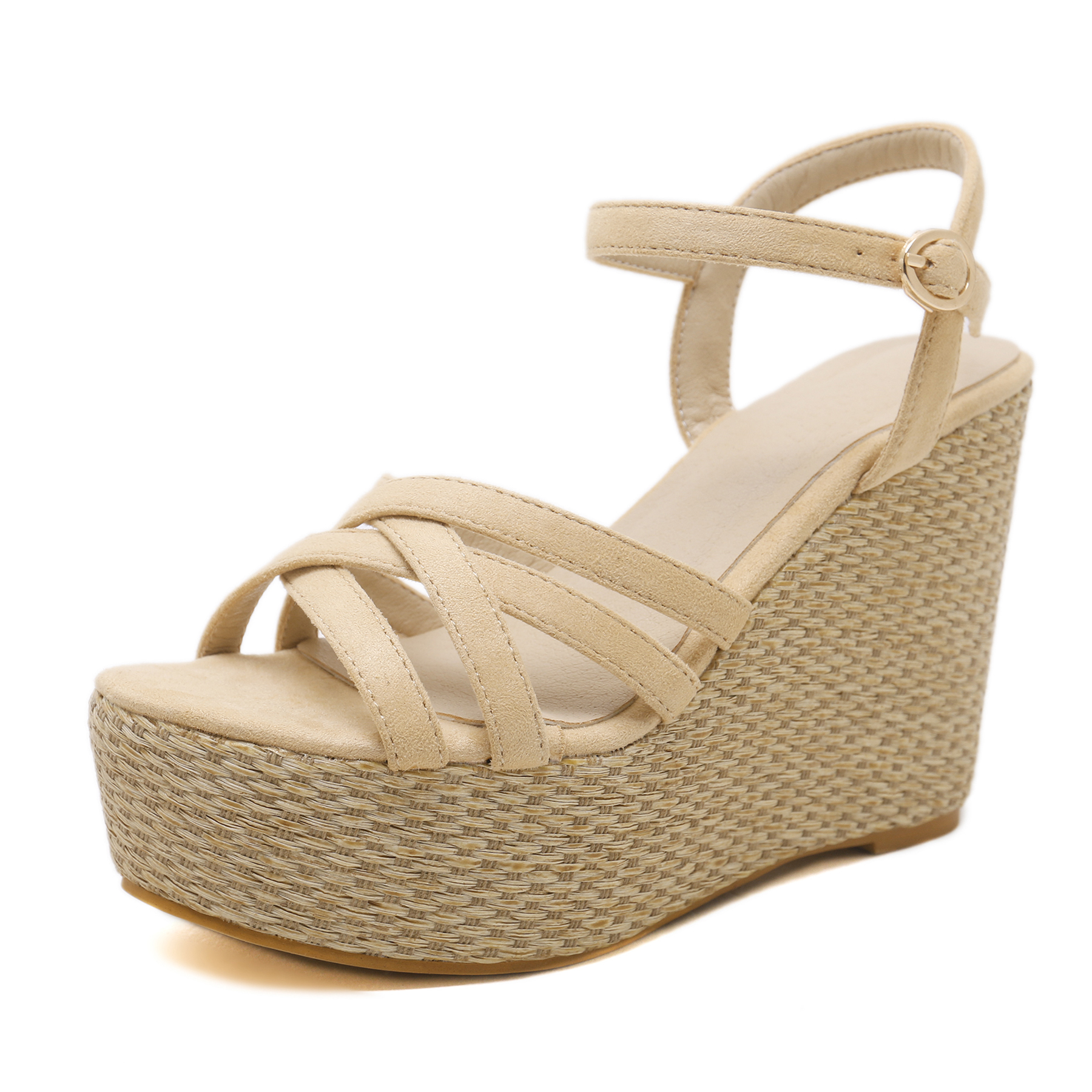 Block heel shoes Wedge women