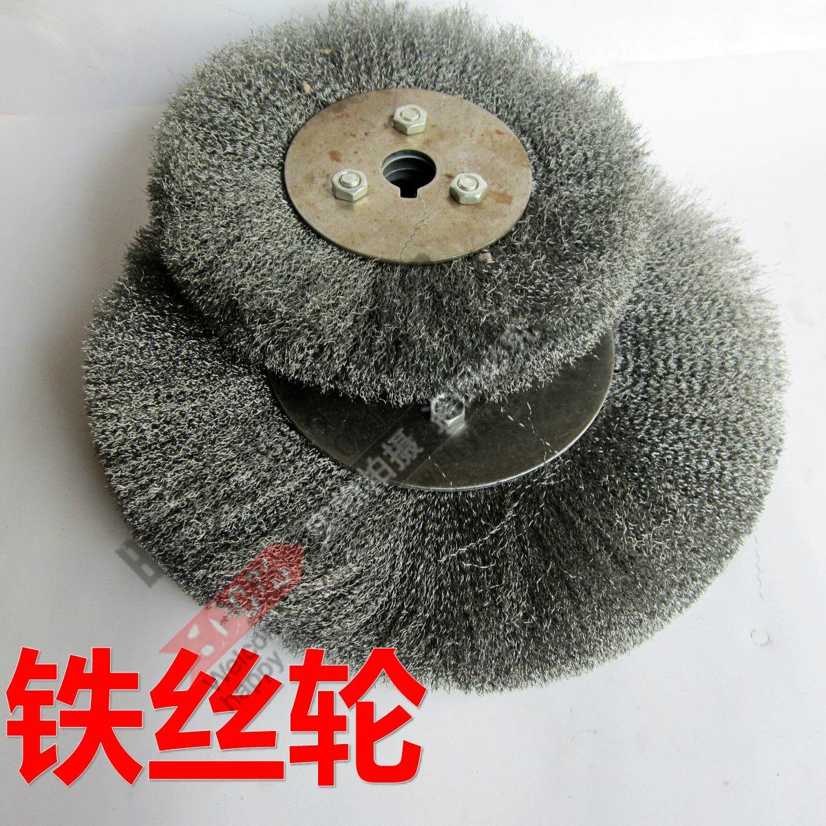 Щетка металлическая Чисто параллельной проволоки колесо мягкой проволоки, полировка колеса Деревообработка резьбы металла от ржавчины полированной углерода колеса