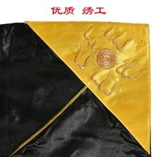 Гуандунская вышивка 福瑞佛具 佛教用品九龙具花具拜具卧具精品苏绣庄严九龙具龙卧具