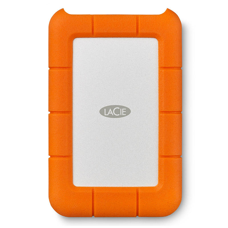 LaCie Rugged Secure Type-C USB3.1-3.0 2T 2.5英寸移动硬盘加密