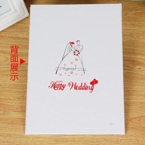 结婚庆用品 婚礼誓言本 创意爱的宣言新郎新娘爱情宣誓保
