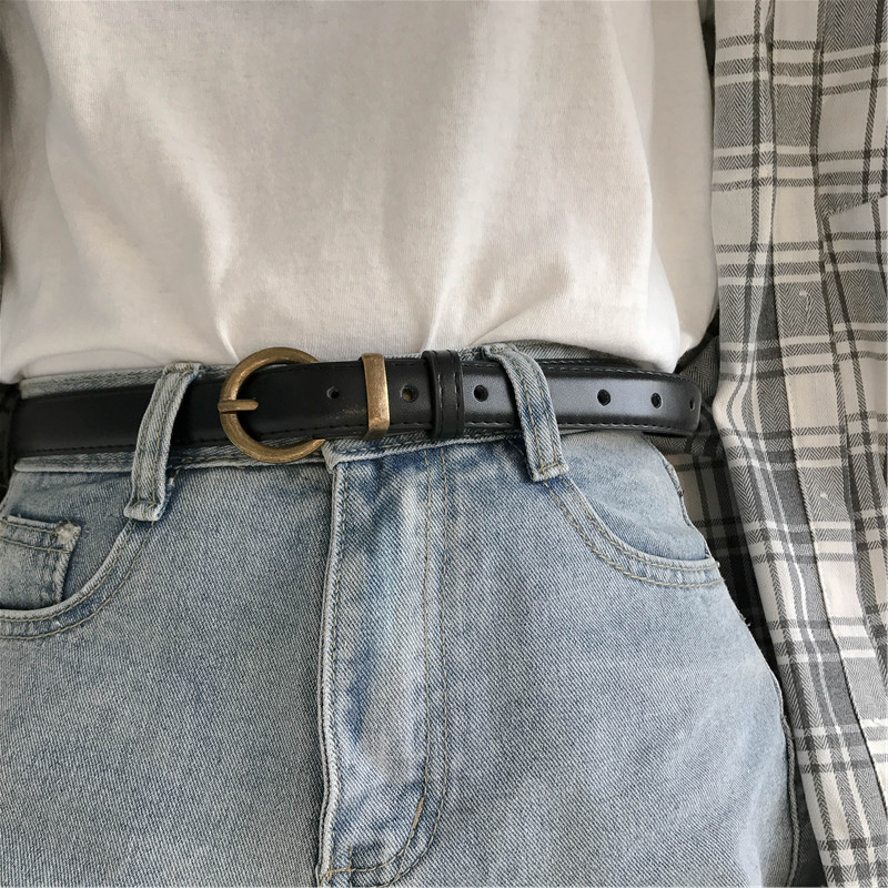复古皮带百搭韩版男女个性腰带