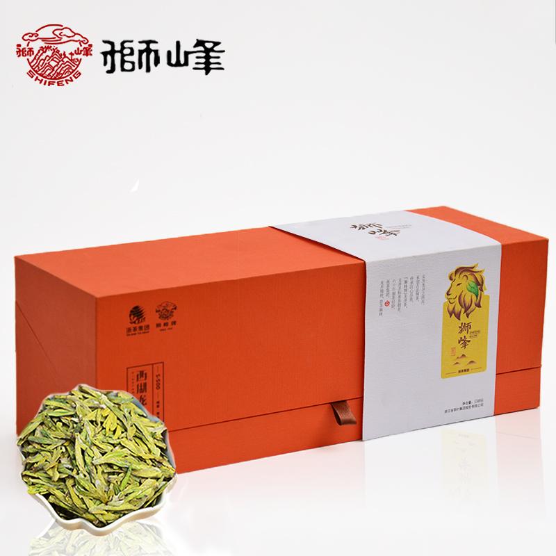 狮峰西湖龙井茶叶明前特级s300礼盒2018新茶上市