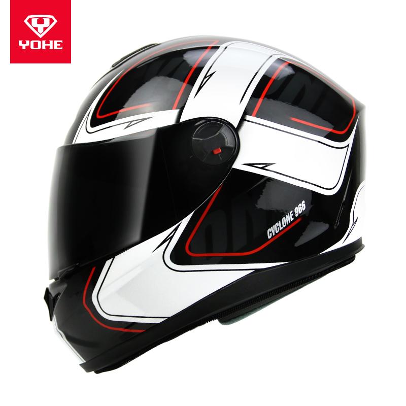 永恒冬季电动摩托车头盔男头盔女全覆式个性酷全盔防雾安全帽966