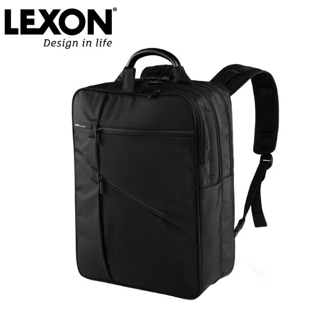 乐上LEXON法国商务背包男女双肩包时尚出差旅行包潮流14寸