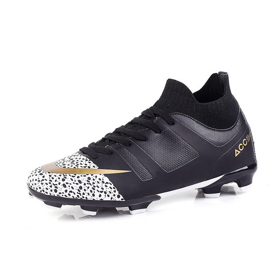 Men Football Shoes Sneakers Boots Ankle High Soccer Cleats