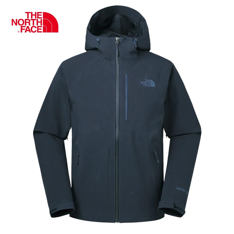 THE NORTH FACE-北面冲锋衣男防水防风透气户外GTX夹克外套A2SLO