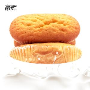豪辉法式奶香蒸蛋糕1000克手撕软面包糕点早餐小吃办公室休闲零食