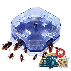 蟑螂捕捉器灭蟑螂药蟑螂屋家用全窝端强力灭蟑清除杀蟑螂胶饵粉贴