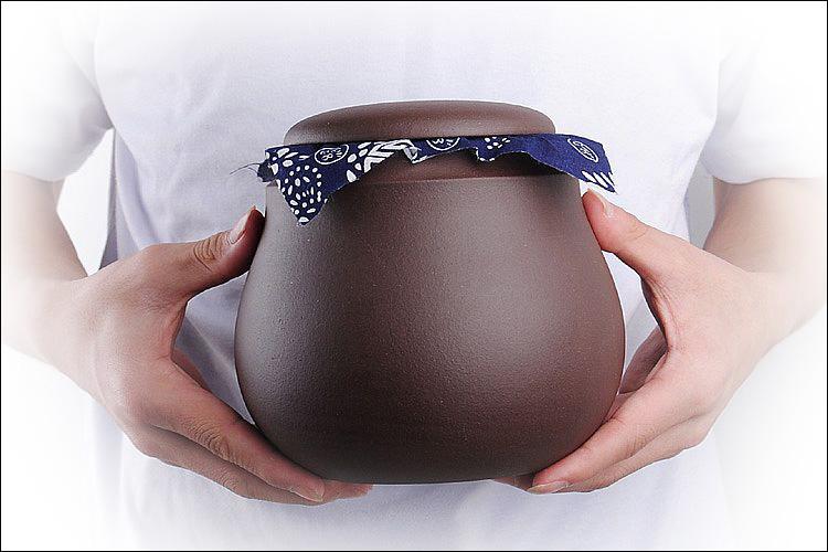 嘉斯佰特紫砂茶叶罐精作茶具CYG-036