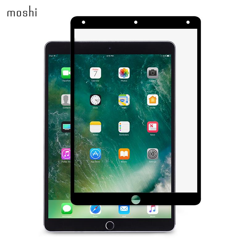 Moshi摩仕iPad Pro 10.5寸屏幕膜防反光带边框磨砂前膜苹果平板电脑2018款 ipad10.5全屏防眩光保护膜磨砂膜