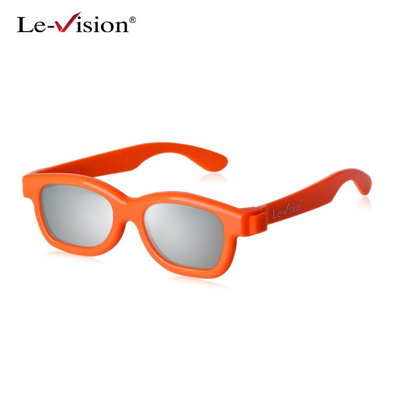 优乐视偏光不闪式3d眼镜儿童三D眼睛偏振式电影院立体眼镜儿童款