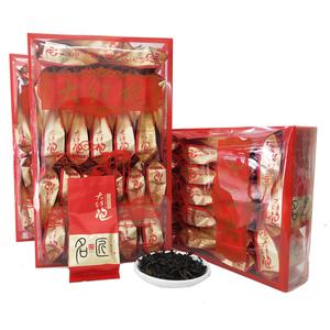武夷山大红袍散装岩茶浓香乌龙茶送礼茶叶礼盒装肉桂老枞水仙125g