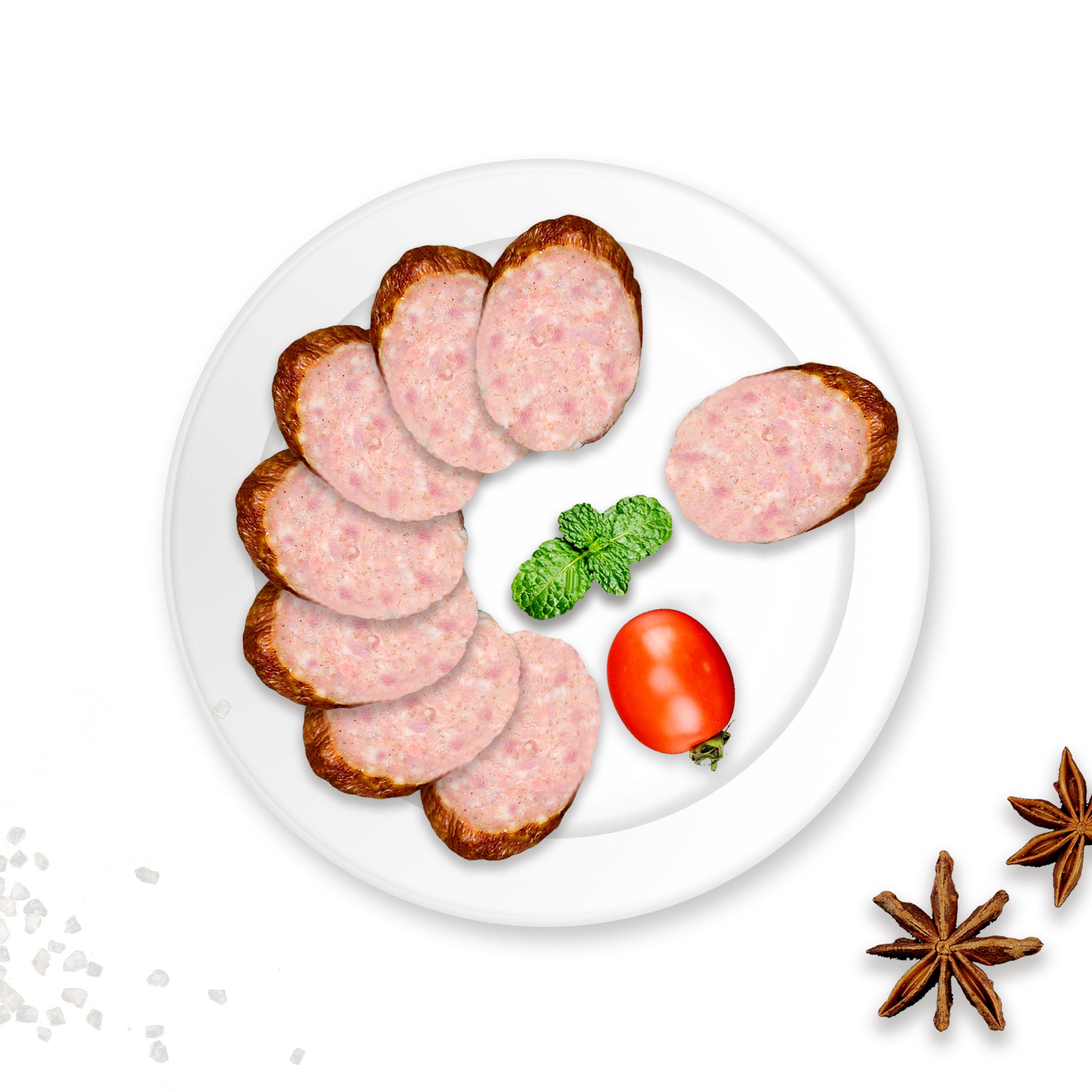 老巴克 哈尔滨儿童肠东北特产小吃无淀粉即食香肠袋装100g*5支