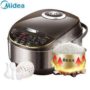 Midea/美的 MB-WRD5031A电饭煲家用5L大容量智能电饭锅4-6-8人