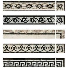 Бордюр с орнаментом Litian 800 150